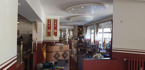 Ausstattung für thailändisches Restaurant - Thaimöbel