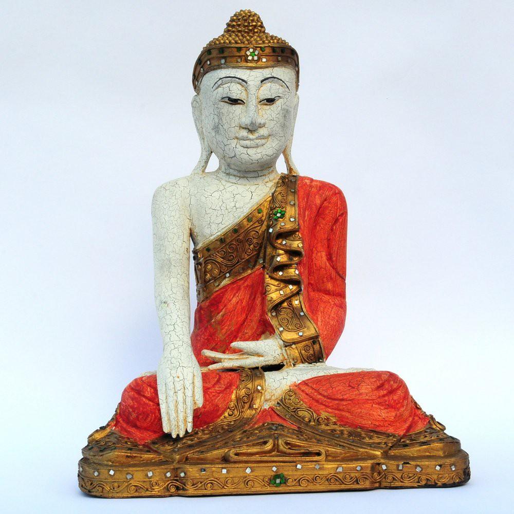 buddha figur aus holz preisvergleich die besten angebote online kaufen. Black Bedroom Furniture Sets. Home Design Ideas