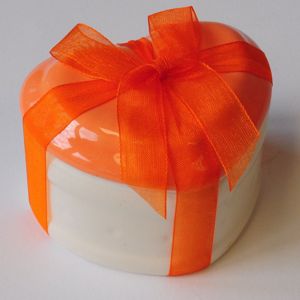 Geschenkartikel Dose Keramik Herz