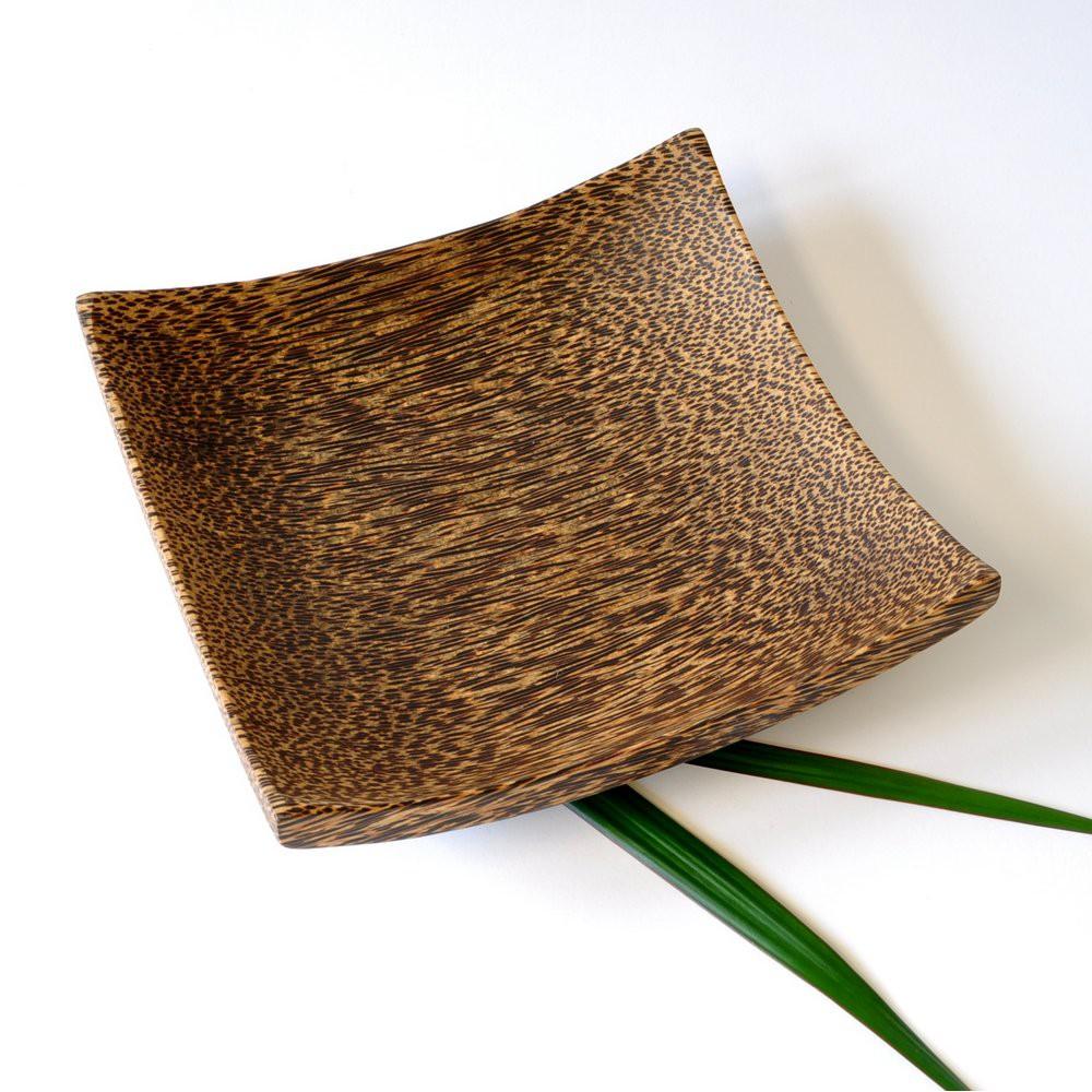 schale singha aus kokosholz thai deko 20 5cm. Black Bedroom Furniture Sets. Home Design Ideas