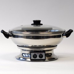 Electric BBQ table grill Thai hotpot 33cm