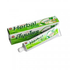 Twin Lotus Toothpaste, 10 herbs, without flouride, 150 g,...