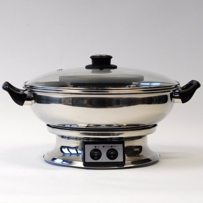 electric bbq table grill thai hotpot 33cm. Black Bedroom Furniture Sets. Home Design Ideas