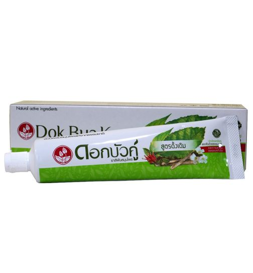 Twin Lotus Herbal Toothpaste 10 herbs without fluoride 6x150g