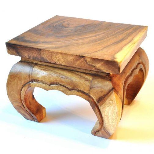 Opiumtisch massivholz 25cm akazie for Tisch billig