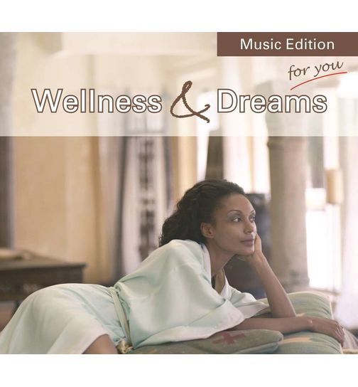 Wellness & Dreams Vol. 1 CD Album Entspannungsmusik Massagemusik Original CD