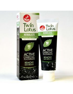Twin Lotus ACTIVE CHARCOAL Zahnpasta 100g