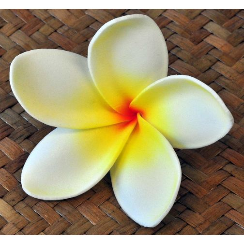 bl ten kunstblumen plumeria frangipani wei gelb. Black Bedroom Furniture Sets. Home Design Ideas