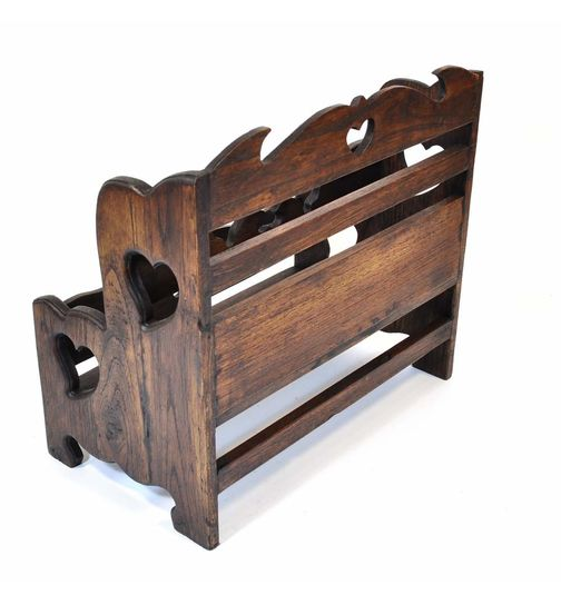 Stand holder rack solid wood decorated