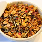 Ginger Lemon herbal tea loose tea natural flavouring
