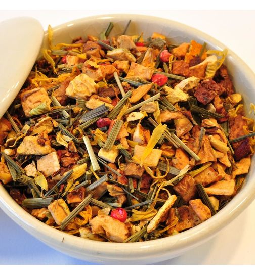 Ginger Lemon herbal tea loose tea natural flavouring 100g
