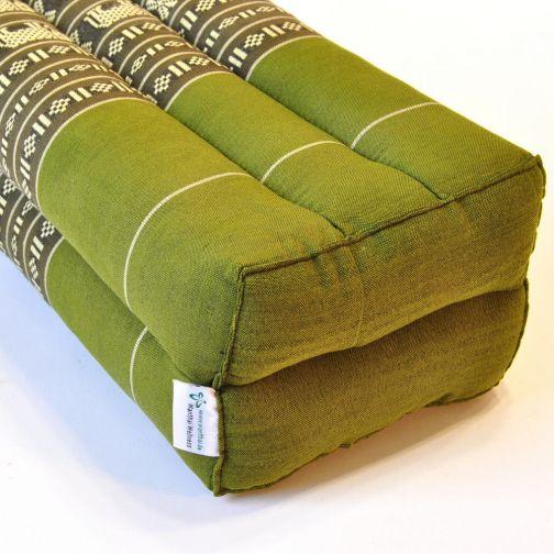 kissen thai kopfkissen meditation elefanten lang gr n. Black Bedroom Furniture Sets. Home Design Ideas