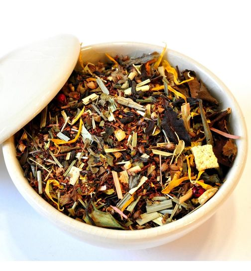 Mango Ginger Ayurveda wellness tea