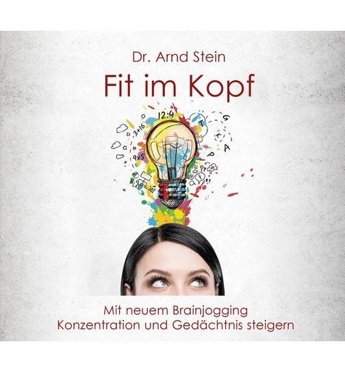 Fit in head CD with new brainjogging raising concentration and memory