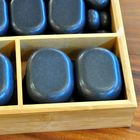 Hot Stone Set 45 Steine in Bambus Box