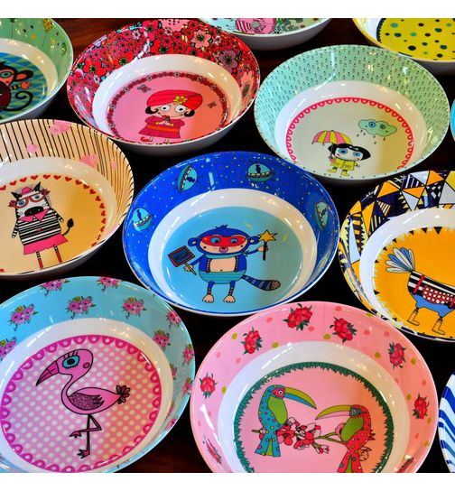 SuperSOSO! Deep Plate various designs