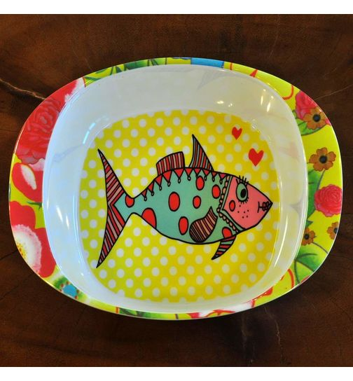 SuperSOSO! Baby Schale Design Mrs. Fish