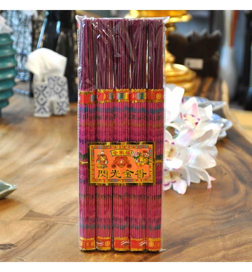 Incense Sticks Five Pack red long