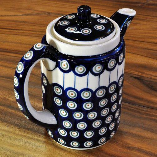 Bunzlauer Keramik TEEKANNE Kaffeekanne Kanne Tee Kaffee  1 L