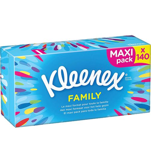 Kleenex cosmetic wipes 140 pack Maxi
