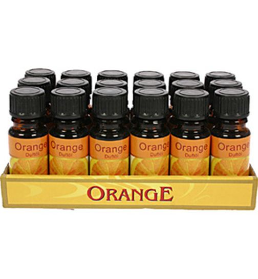 Duftöl Orange 10 ml in Glasflasche Orangenduft Diffusor-Öl