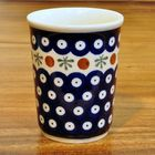 Bunzlau ceramic mug 0.24 liter decor 41