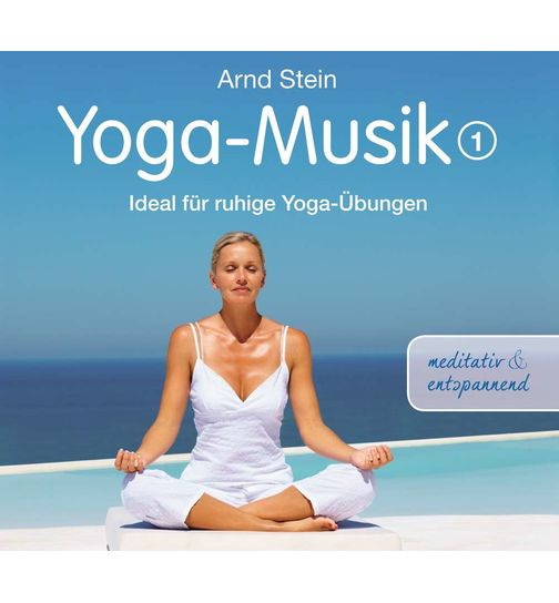 Yoga Music 1 CD album with relaxation massage music GEMA free
