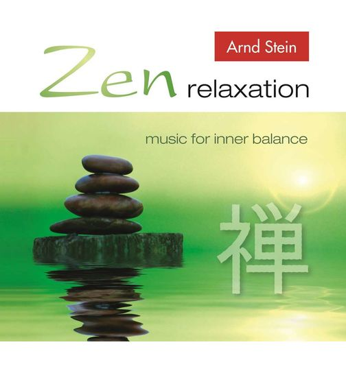 Zen relaxation music for inner balance CD Album Massagemusik Original CD