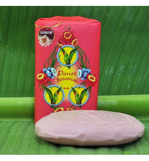 Parrot Natural Soap Flower Scent Delightfully Fragrant 70g