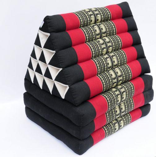 thaikissen xl dreieckskissen mit thaimatte kaufen. Black Bedroom Furniture Sets. Home Design Ideas