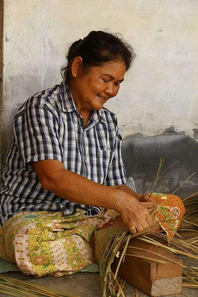 Wanthai Korbwaren Herstellung in Thailand