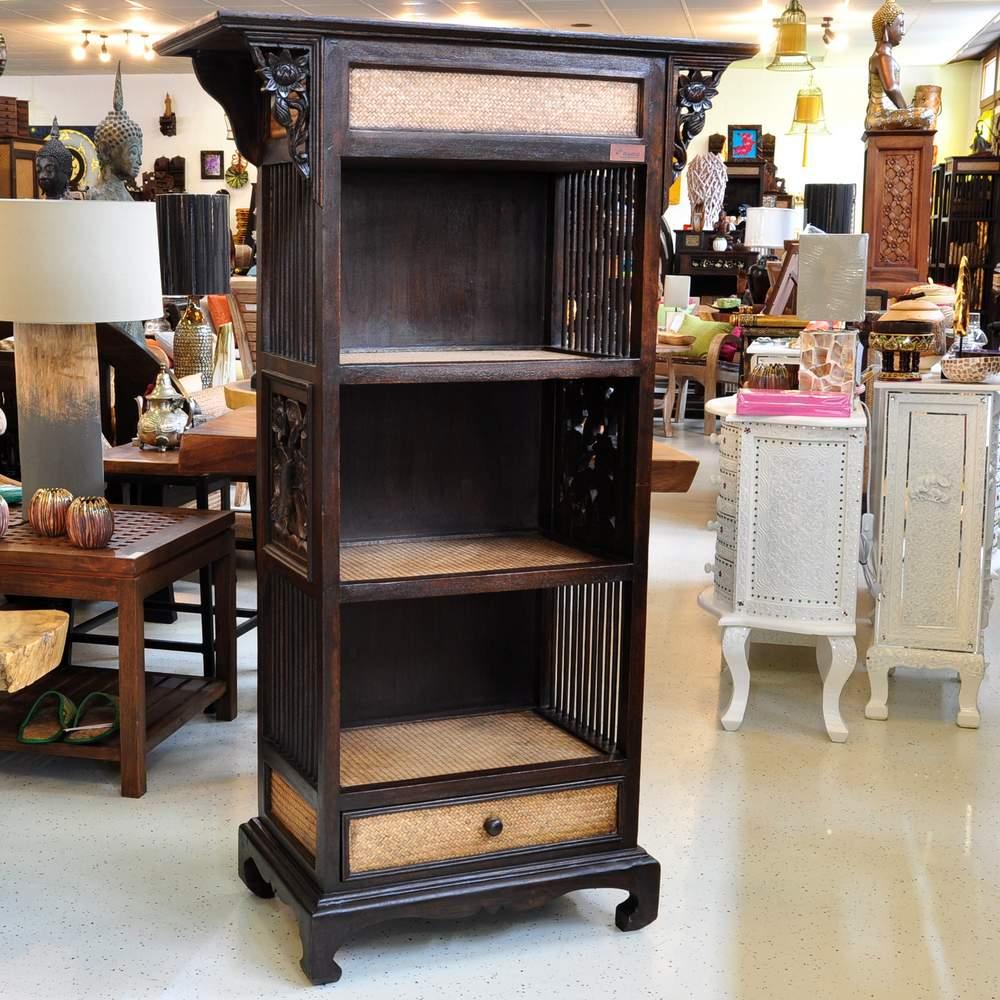 Thaimöbel Regale aus Massivholz günstig kaufen - Thailand Shop in Altbach bei Esslingen