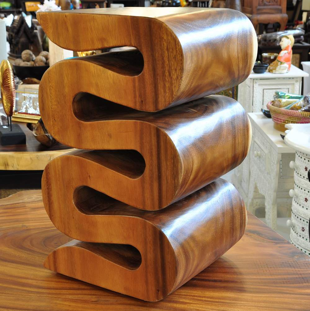 Buy Thai stools and solid wood stools from Thailand - Thailand Shop in Altbach near Esslingen